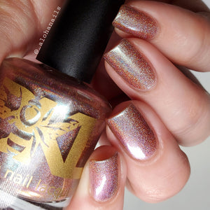 "Bee's Knees Lacquer ""Don't Drop The Truth Tortoise"" *PRE-ORDER*"