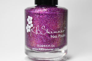 "KBShimmer ""Take Time to Shellebrate."""