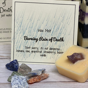 "Lake House Soapery ""Burning Rain of Death"" *CAPPED PRE-ORDER*"
