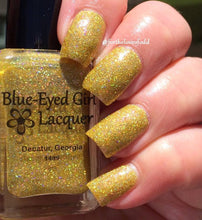 "Blue Eyed Girl Lacquer ""Pineapple Express"""