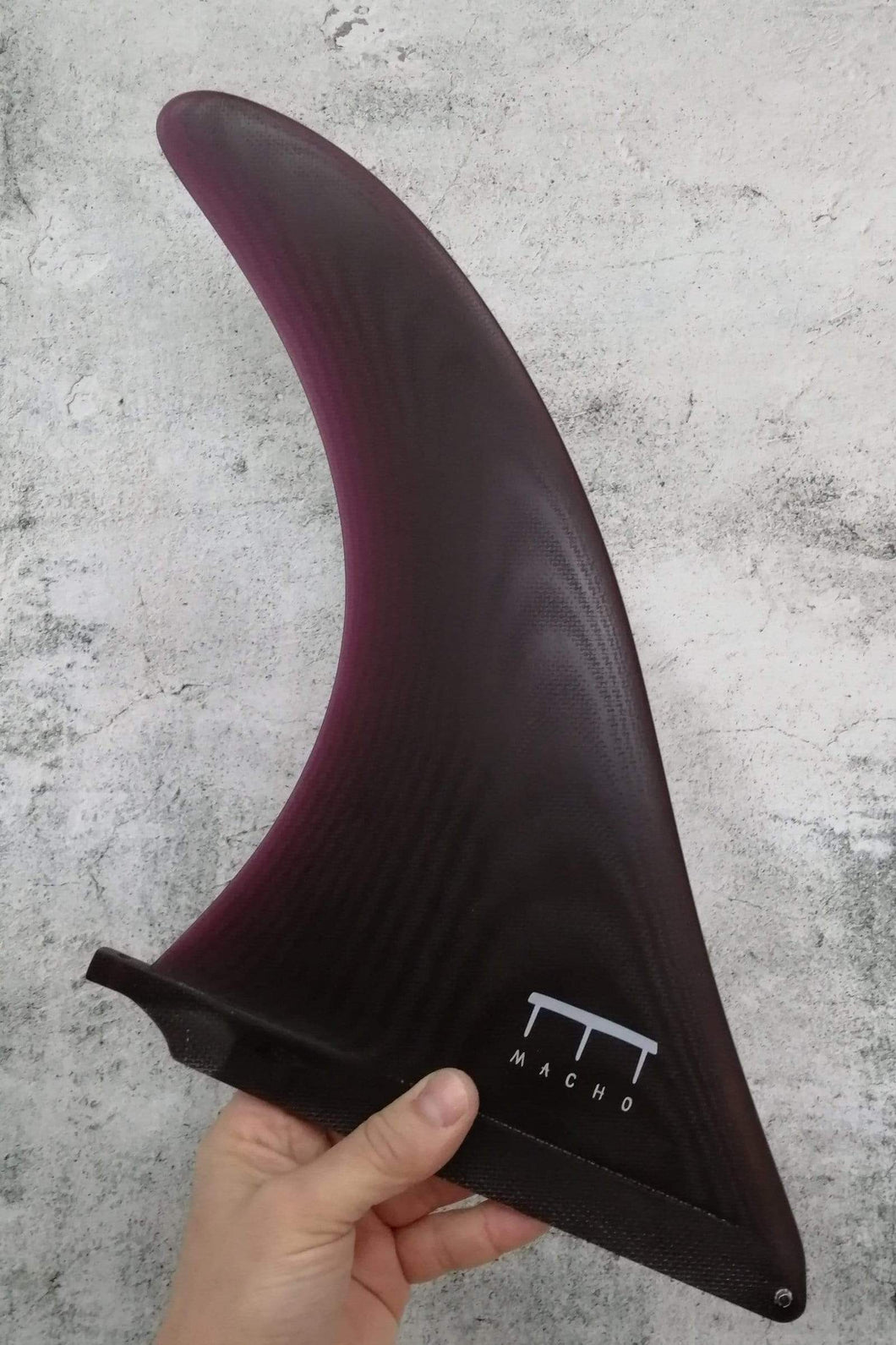 Macho Fins Bow 10.5'' - Red Wine