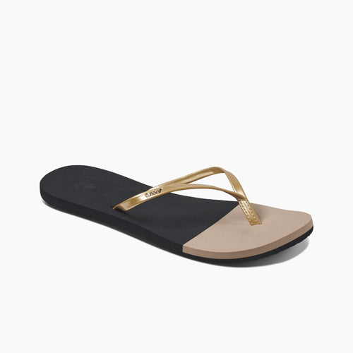 Reef Bliss Toe Dip - Black/Gold