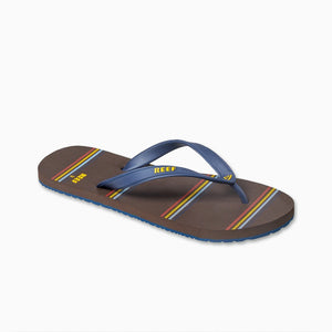Reef Switchfoot Prints - Navy/Brown