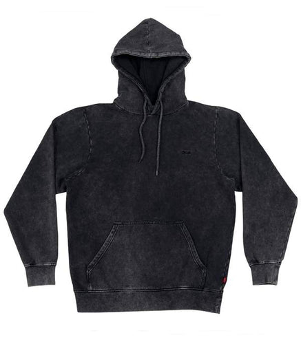 Qhuit Hoodie Fade Out - Black