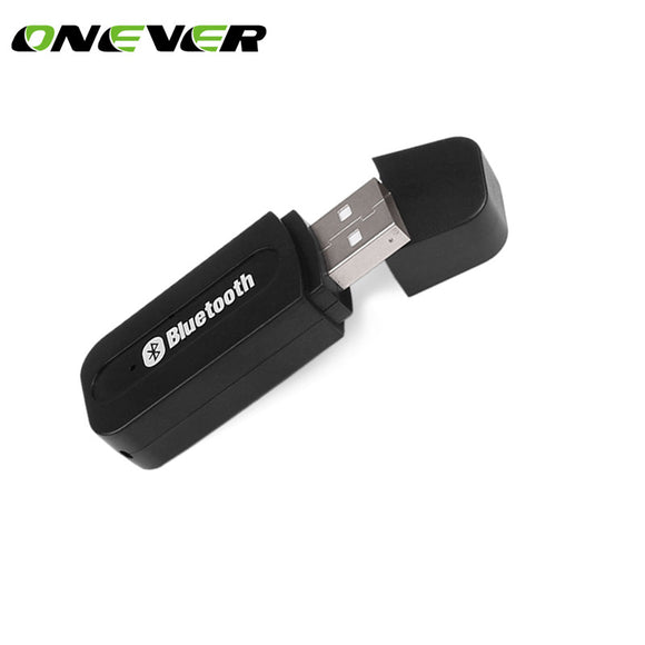 USB Car Bluetooth Adapter Audio Music Receiver Dongle 3.5mm Port Auto AUX Streaming A2DP Kit for Speaker Phone Headphone - Fun Buy Shop
