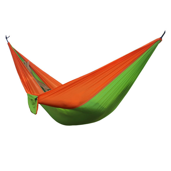 2 People Portable Parachute Hammock for outdoor Camping 270*140 cm 17 Colors - Fun Buy Shop