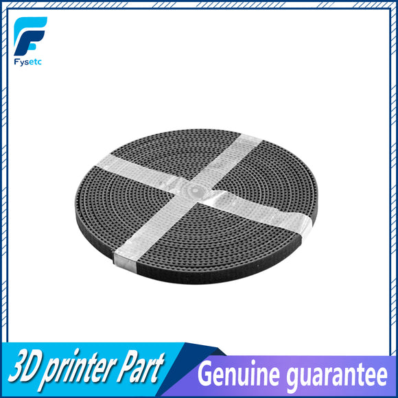 5m/lot GT2-6mm open timing belt width 6mm GT2 belt Rubbr Fiberglass cut to length for 3D printer wholesale - Fun Buy Shop