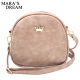 Mara's Dream 2018 Fashion Women Handbag Messenger Bags PU Leather Shoulder Bag Lady Crossbody Mini Bag Female Crown Evening Bags - Fun Buy Shop
