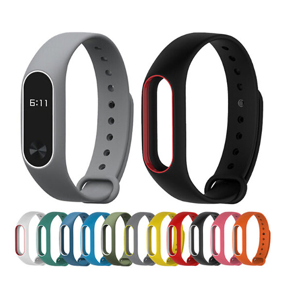 Replace Strap for Xiaomi Mi Band 2 MiBand 2 Silicone Wristbands for Xiaomi Band 2 straps Smart Bracelet silicone wriststrap - Fun Buy Shop