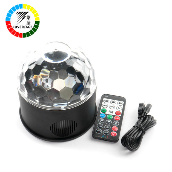 Coversage Led Disco Party Stage Light Club USB DJ Laser Bluetooth Music Speaker With Remote Controller Mini RGB Projector Lamp - Fun Buy Shop