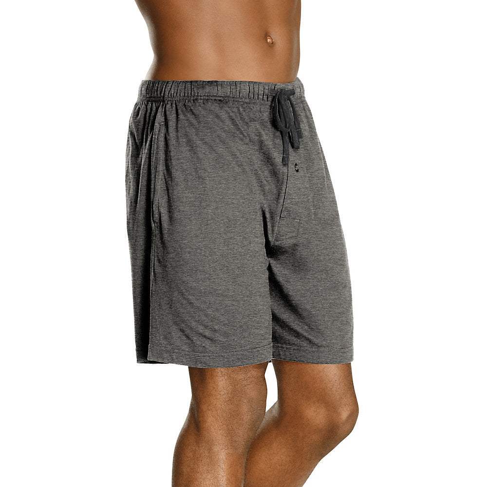 Hanes Men's X-Temp® Brushed Performance Knit Shorts 2-Pack - Lil&Laya
