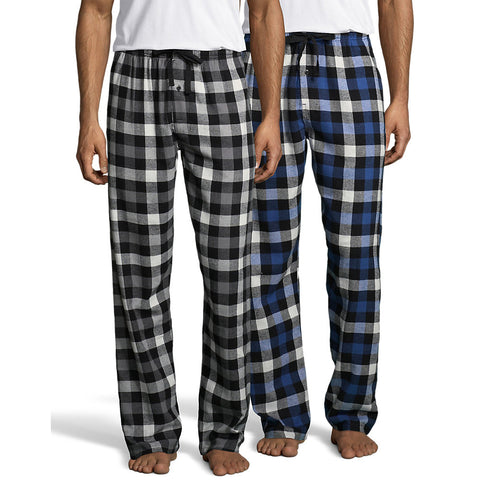 Hanes Men's Flannel Pant 2-Pack - Lil&Laya