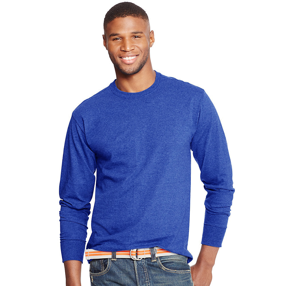 Hanes Men's ComfortBlend® Long-Sleeve T-Shirt - Lil&Laya