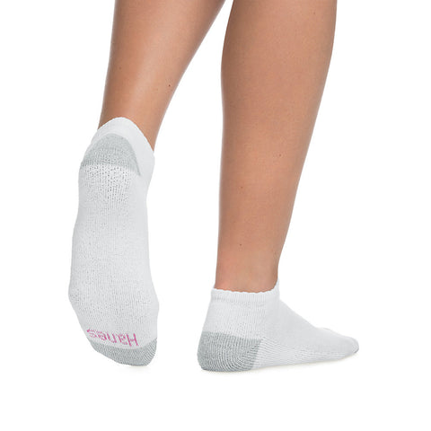 Hanes Cushioned Women's Low-Cut Athletic Socks 10-Pack - Lil&Laya