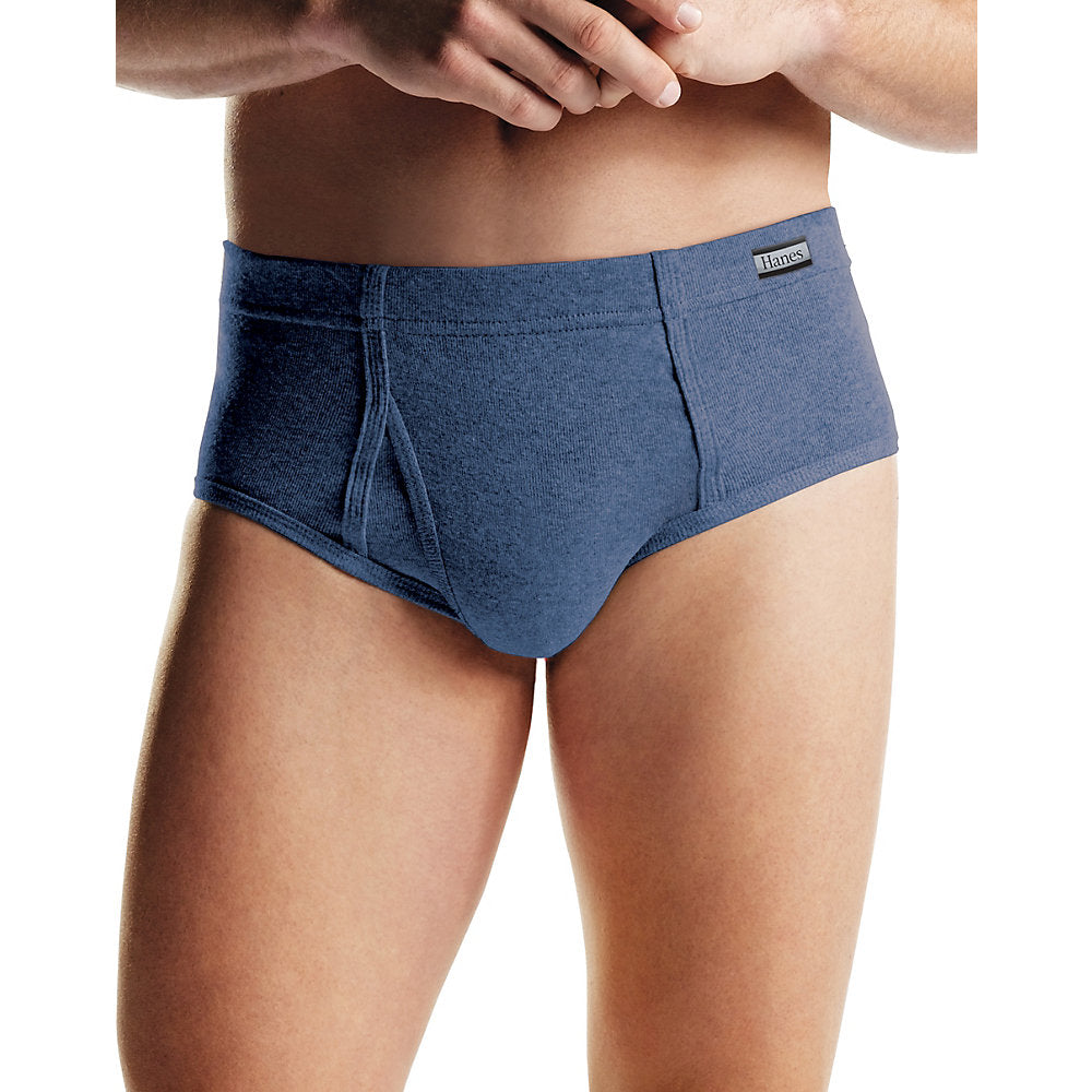 Hanes Men's TAGLESS® No Ride Up Briefs with ComfortSoft® Waistband 6-Pack - Lil&Laya