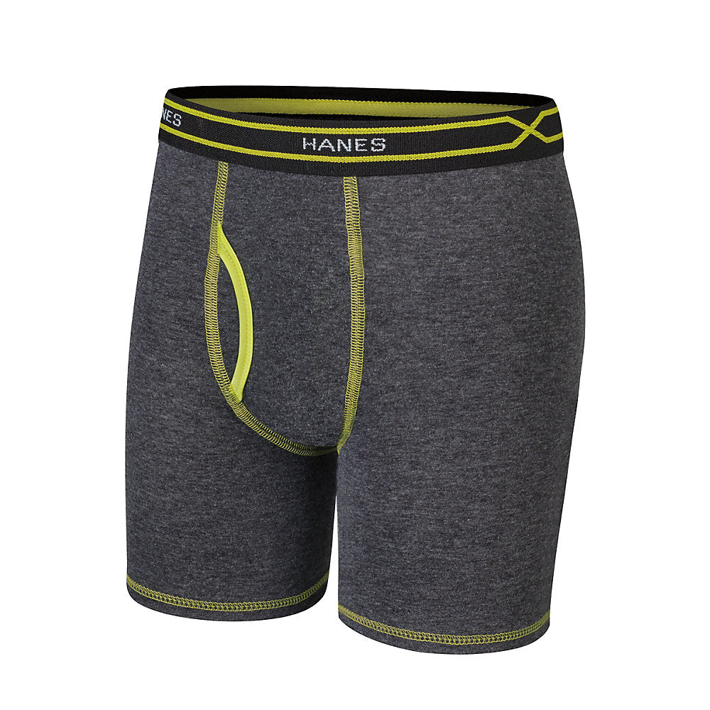 Hanes X-Temp® Boys' Long Leg Boxer Brief with Comfort Flex® Waistband 4-Pack - Lil&Laya