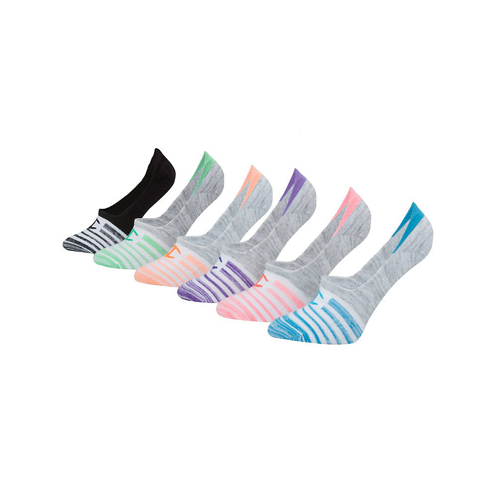 Champion Women's Performance Invisible Liner Socks 6-Pack - Lil&Laya