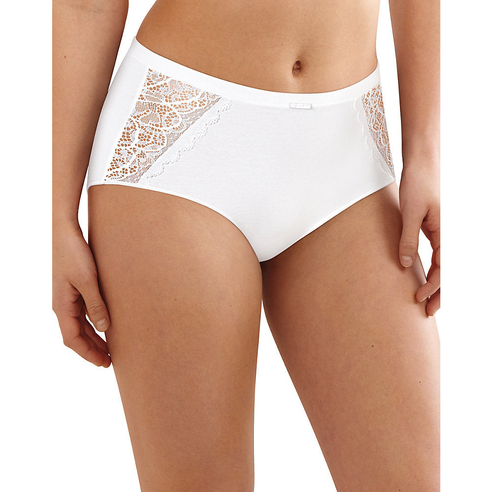 Bali Lace Desire Cotton Brief - Lil&Laya