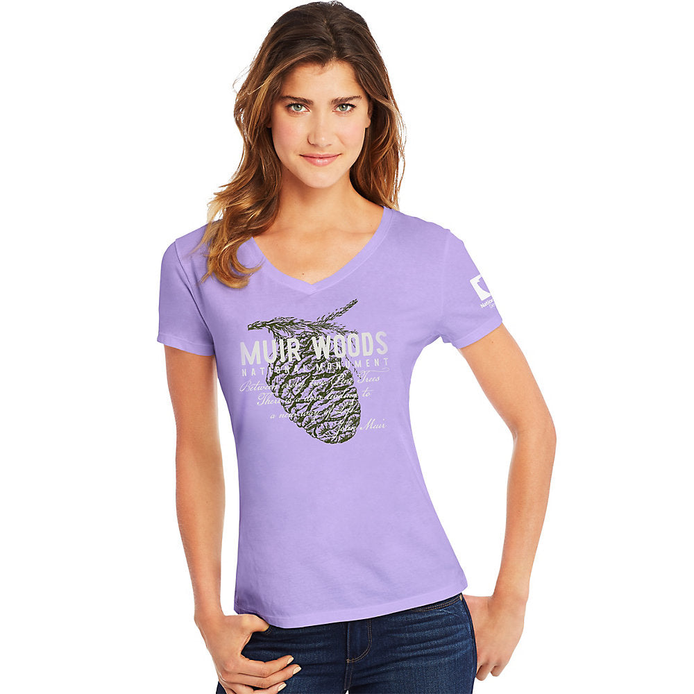 Hanes Muir Woods National Monument National Park Women's Graphic Tee - Lil&Laya