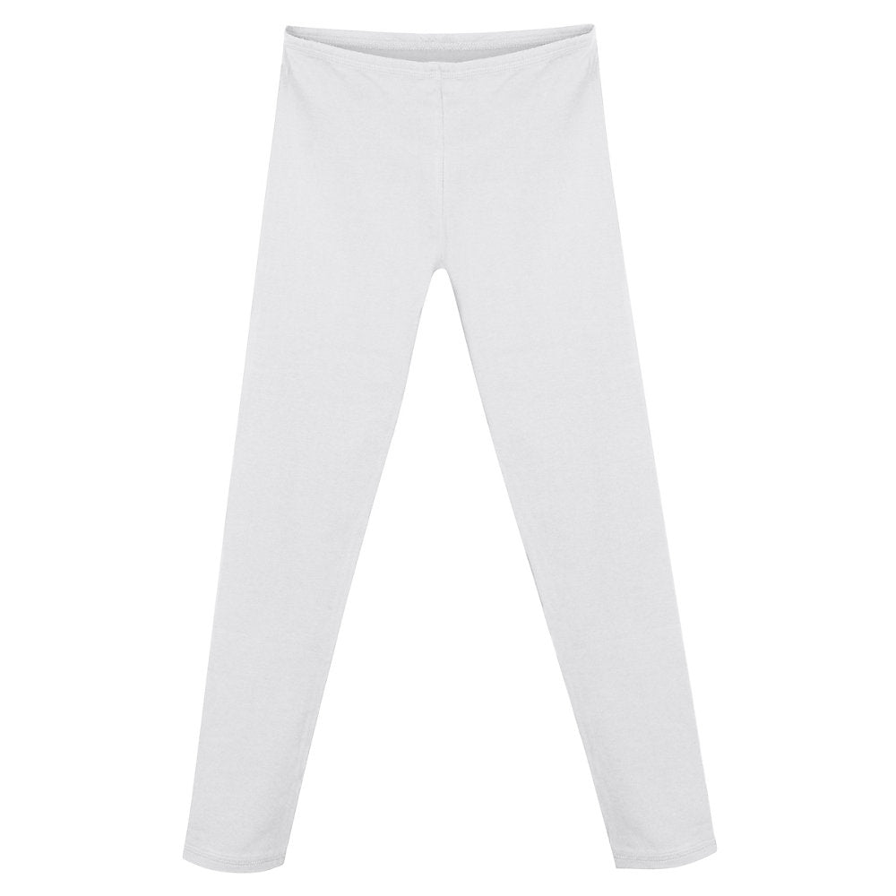 Hanes Girls' Cotton Stretch Leggings - Lil&Laya