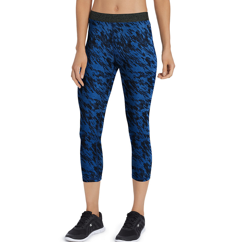 Champion Women's Printed Everyday Capris - Lil&Laya