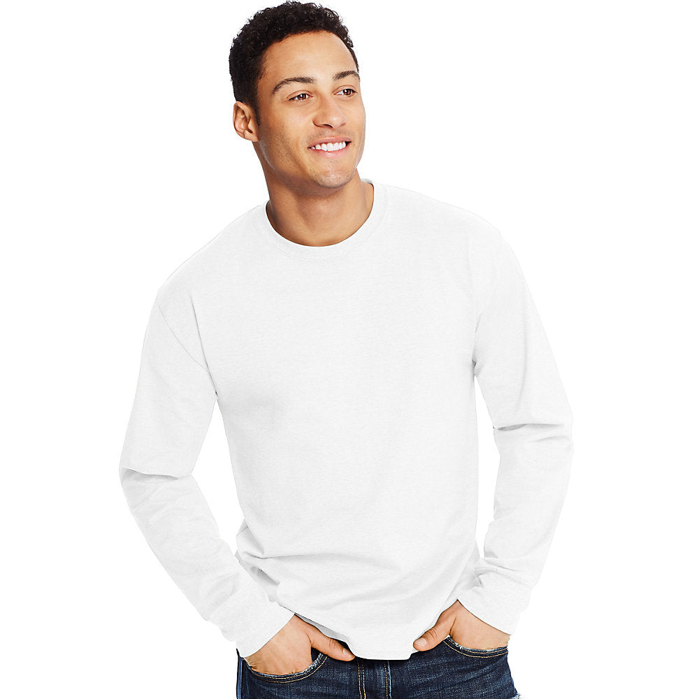 Hanes X-Temp® Men's Long-Sleeve T-Shirt - Lil&Laya