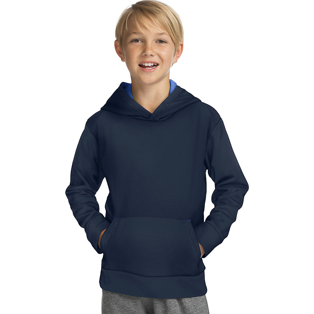Hanes Sport_Ñ_եë¢ Boy's Tech Fleece Pullover Raglan Hoodie - Lil&Laya