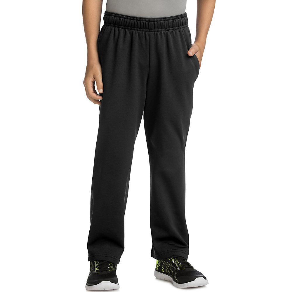 Hanes Sport_Ñ_եë¢ Boy's Tech Fleece Open Leg Pants - Lil&Laya