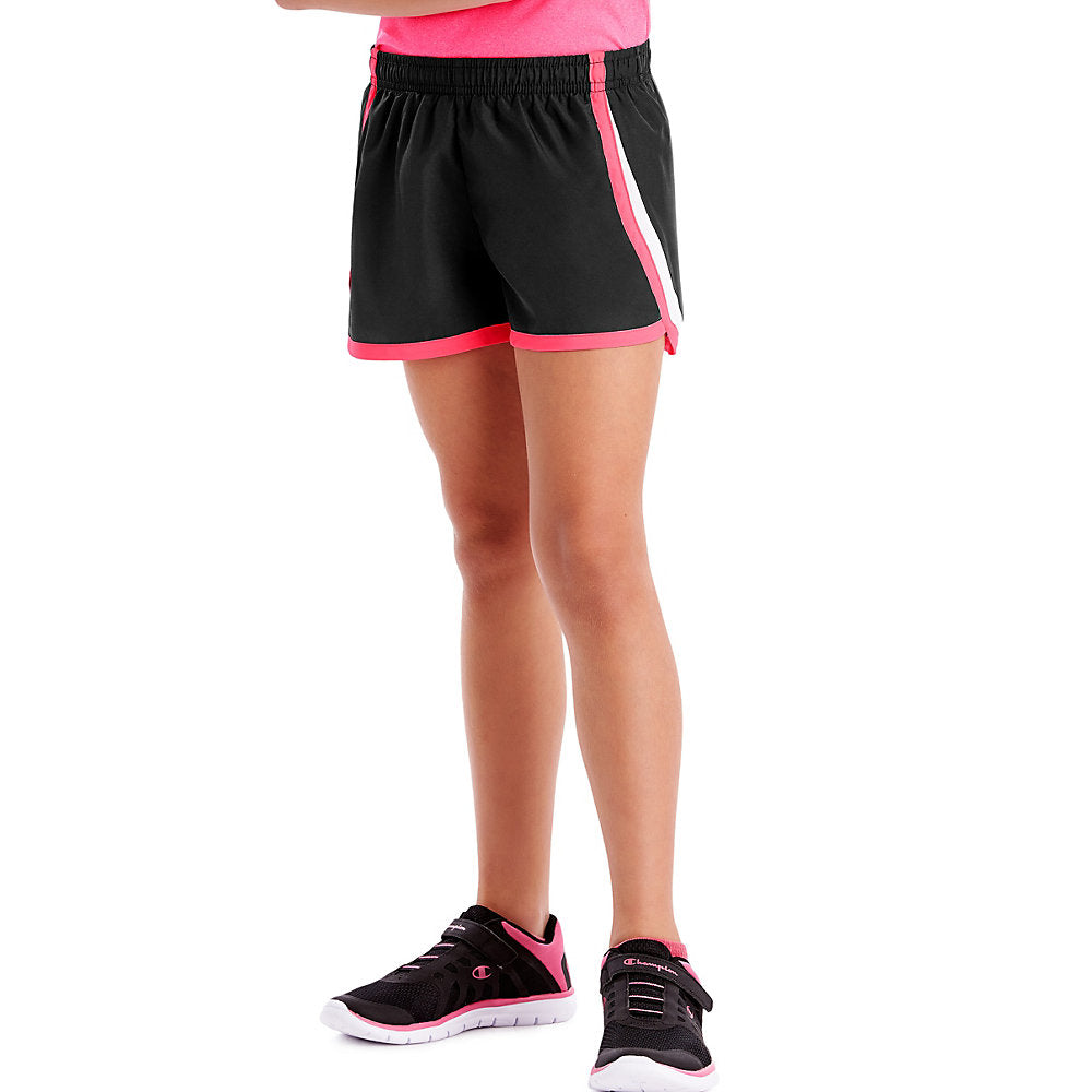 Hanes Sport™ Girls' Woven Performance Training Shorts - Lil&Laya