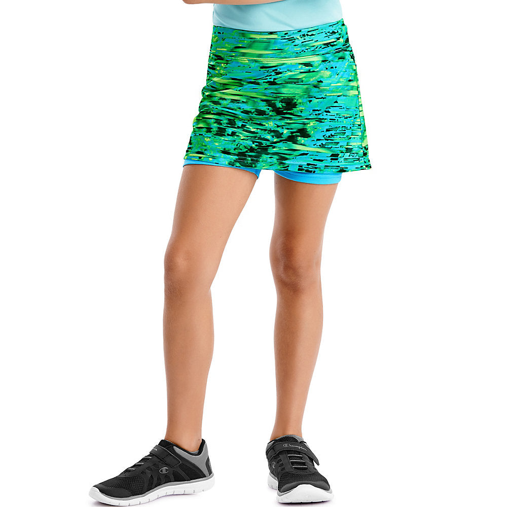 Hanes Sport&#153 Girls' Performance Skort - Lil&Laya