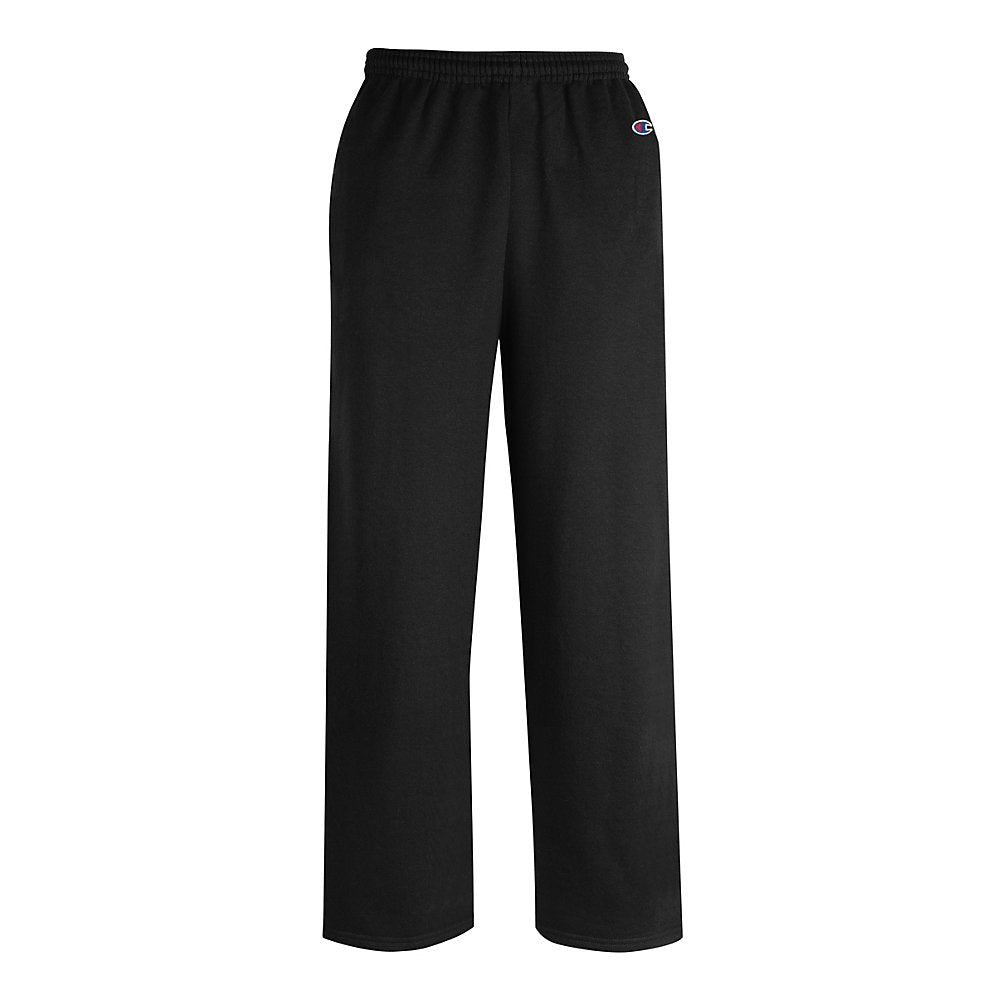 Champion Men's Double Dry Eco Fleece Open Bottom Pant w/ Pockets - Lil&Laya