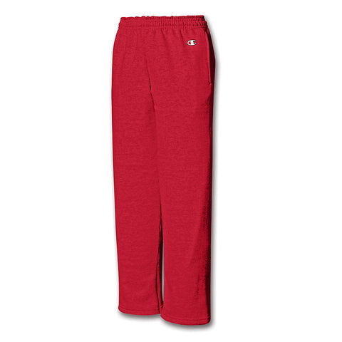 Champion Youth Double Dry Action Fleece Open Bottom Pant - Lil&Laya
