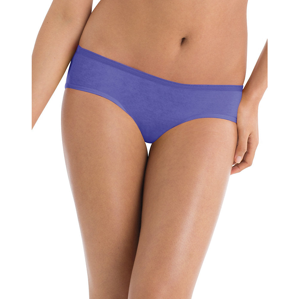 Hanes® Cool Comfort&#153 Women's Cotton Hipster Panties 6-Pack - Lil&Laya