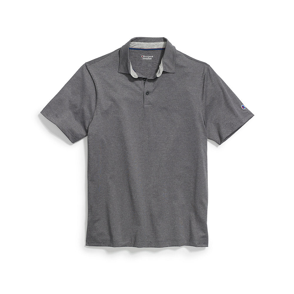 Champion Men's Heather Performance Golf Polo - Lil&Laya