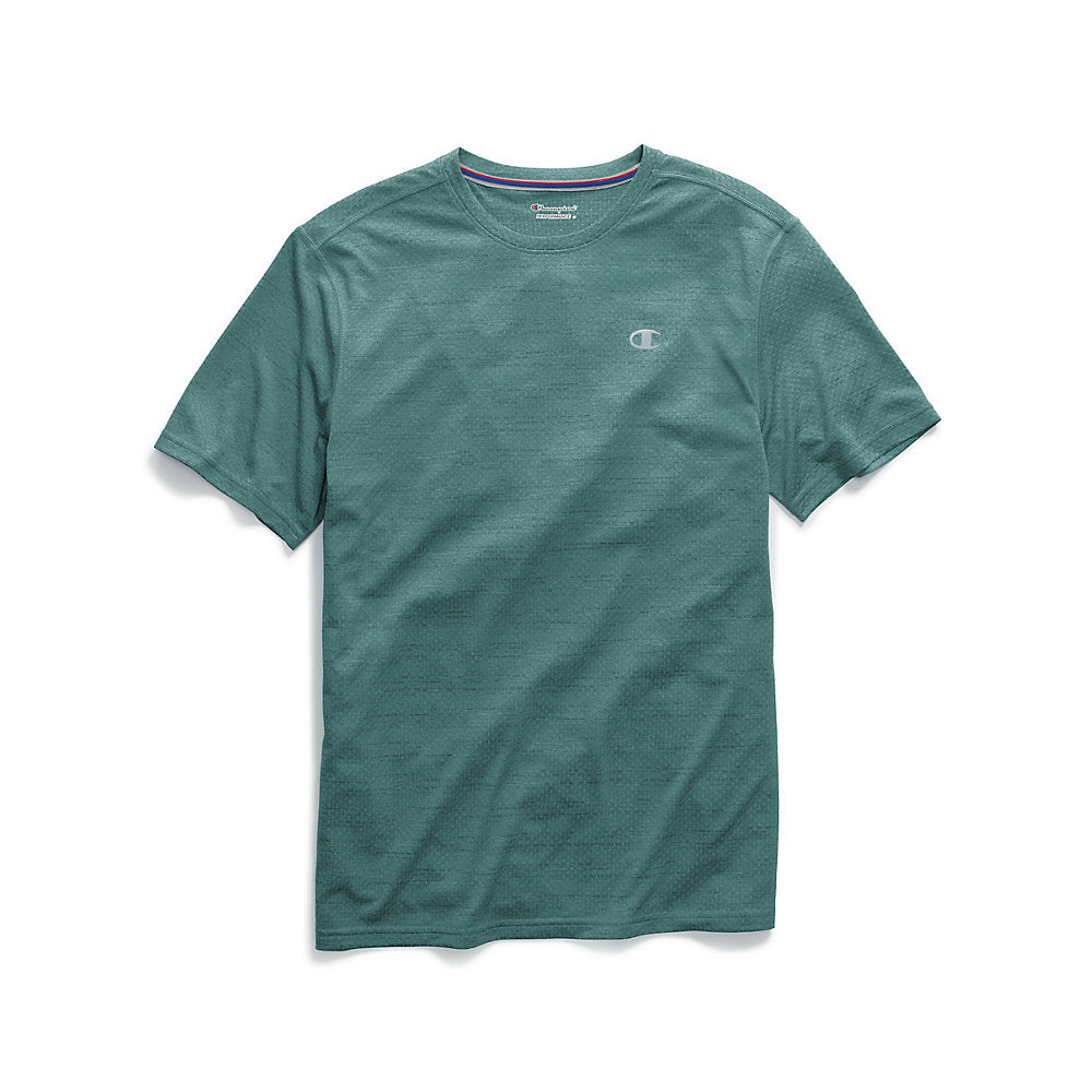 Champion Men's Double Dry® Mesh Texture Tee - Lil&Laya