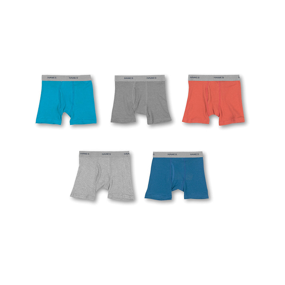Hanes Toddler Boys' Boxer Briefs with Comfort Flex® Waistband 5-Pack - Lil&Laya