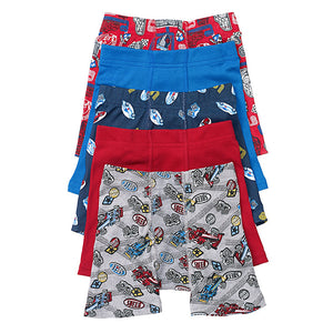 Hanes Toddler Boys' Printed Boxer Briefs with Comfort Flex® Waistband 5-Pack - Lil&Laya