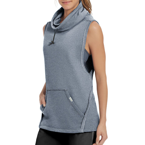 Champion Women's French Terry Sleeveless Pullover - Lil&Laya