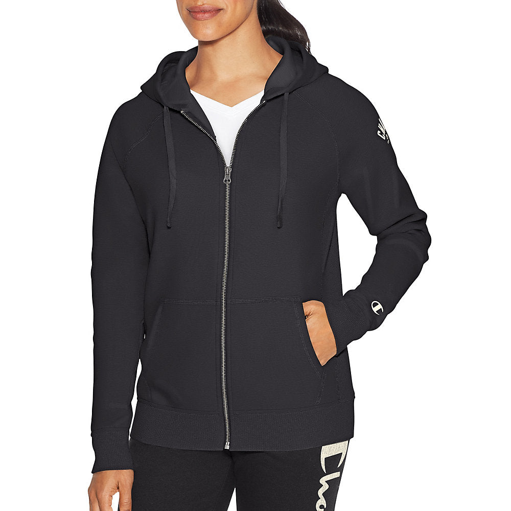 Champion Women Heritage Fleece Zip Hood - Lil&Laya