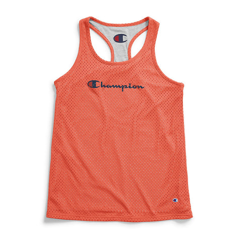 Champion Women's Reversible Mesh To Jersey Tank - Lil&Laya
