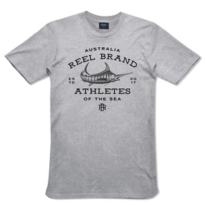 Grey Marlin Short Sleeve Tee