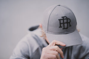 Snap Back Cap Grey