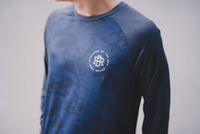 Performance Long Sleeve Blue Camo