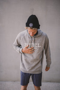 Double Knit Hoodie Grey