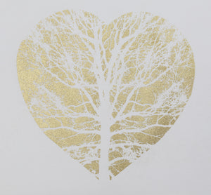 Can you feel my heart beat? Gold Edition (Unframed)