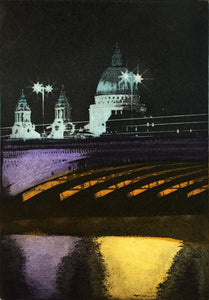 Night Time by the Thames