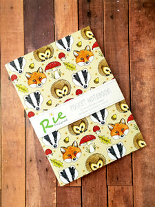 Woodland Animal A6 Notebook