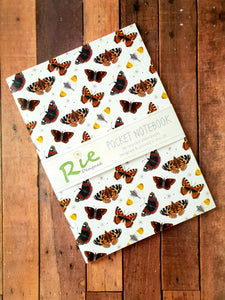 Butterfly A6 Mini Notebook Party Bag Filler