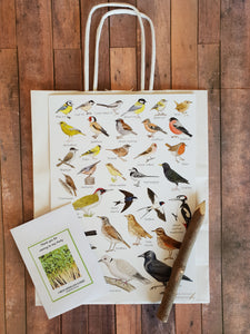 Nature Birds Plastic Free Party Bag