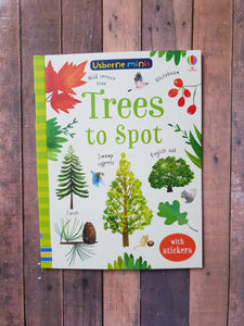 Usborne Minis Trees to Spot